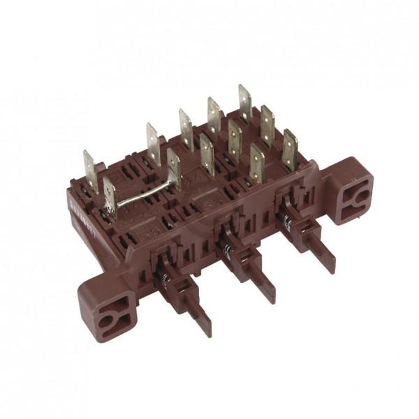Electrolux Tastenschalter 3-fach Juno 152248301/3 für Geschirrspüler
