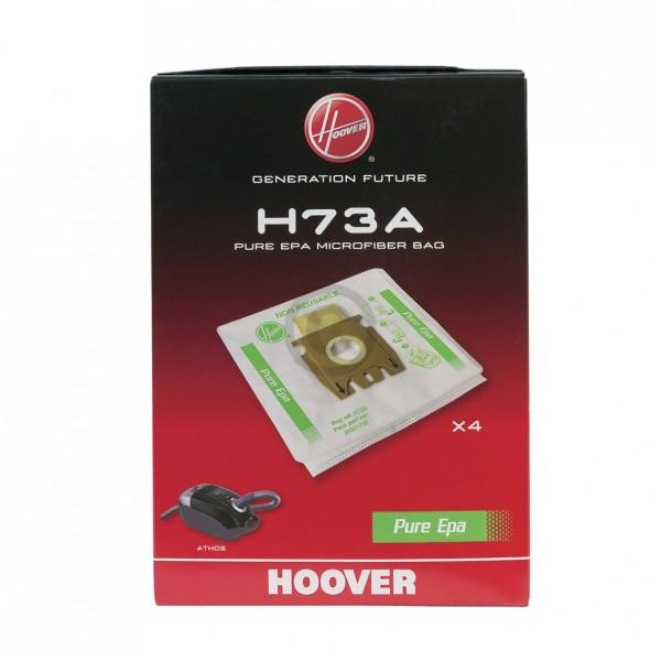 CandyHoover Filterbeutel HOOVER 35601738 H73A PureEpa für Staubsauger 4Stk