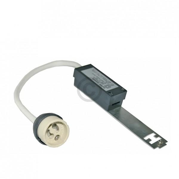Europart Zugentlastung mit Fassung für Lampe mit GU10 GZ10 Sockel