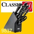 Wüsthof CLASSIC Messerblock Buche Anthrazit mit Teilen 9837