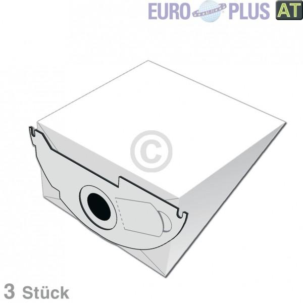 Europart Filterbeutel Europlus K204 für Bodenstaubsauger 3 Stk