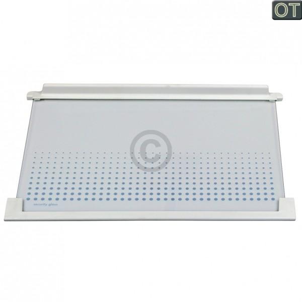 Electrolux Glasplatte AEG 225137453/0 475x315 mm mit Leisten für Kühlschrank